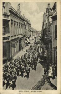 germany, CLEVE KLEVE, Grosse Strasse, Jewish Store Siegfried Cosman 1919 JUDAICA