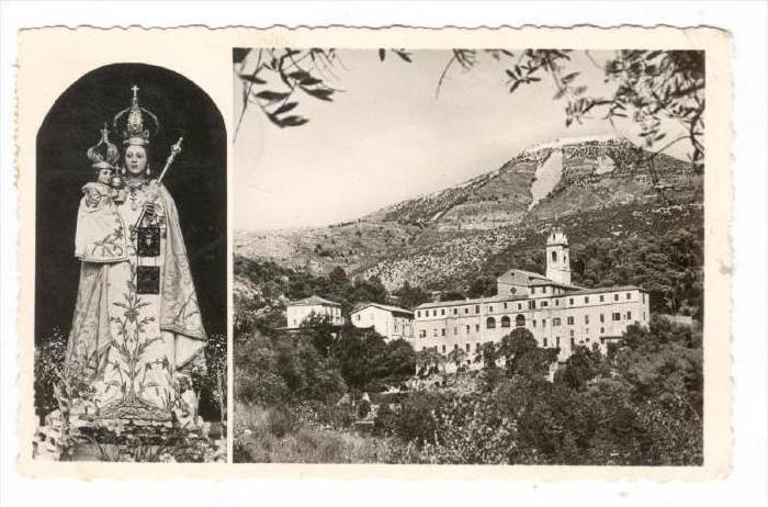 RP, 2Views, Souvenir De N.-D. De Laghet, France, PU-1956