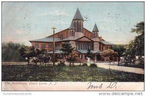 The Auditorium Ocean Grove New Jersey 1906