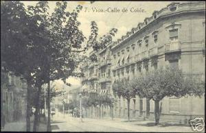 spain, VIGO, Calle de Colon (ca. 1910)
