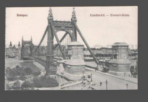 083159 HUNGARY Budapest Elisabeth brucke Vintage PC