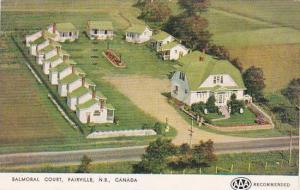 Canada New Brunswick Fairville Balmoral Court 1954