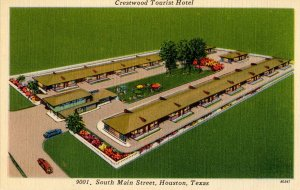 TX - Houston. Crestwood Tourist Hotel