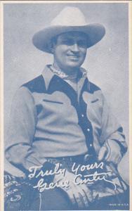 Cowboy Arcade Card Gene Autry