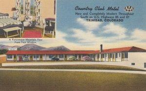 TRINIDAD , Colorado , 1930-40s ; Country Club Hotel