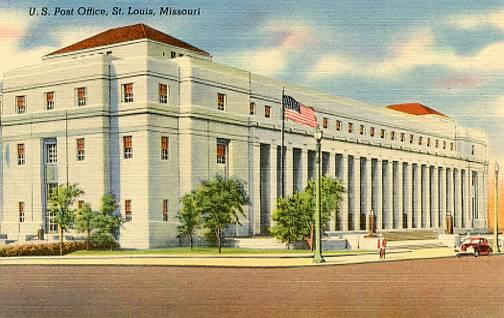 MO - St. Louis, U. S. Post Office