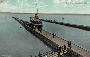 HAMILTON , Ontario , Canada , 1908 ; Bay Pier