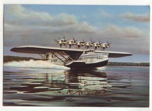 P724  continental approx (4 X 6) 1929 dornier-flugboot do X sea plane