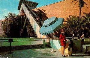 Florida Tampa Busch Gardens Stairway To The Stars 1973