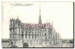 Old Postcard Amiens jack Louvencourt