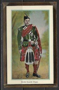 Scotland - Scots Guard-Piper - National Series No. 347  - [FG-274]