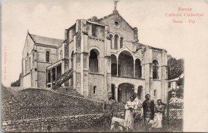 Roman Catholic Cathedral Suva Fiji Unused GL Griffiths Postcard G27