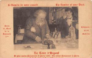 529  France Paris 1915  La Tour d´Argent, The Oldest Restaurant in Paris