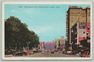 Ogden Utah~Washington Avenue Hotels~Orpheum Theatre~1930s Cars~1947 Centennial