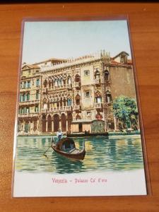 Antique Postcard entitled, Venezia - Palazzo Ca' d'oro  Unposted.