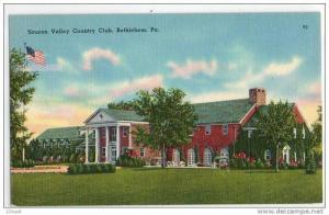 Saucon Valley Country Club, Bethlehem, Pennsylvania, 30´s 40´s