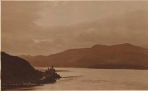 Very Old Real Photo Sepia Postcard by Judges 2023 BARMOUTH Coes-Faen WALES