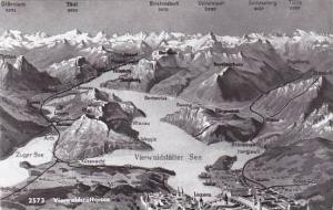 Schweiz Luzern & Vierwaldstaettersee