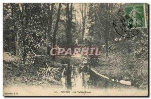 Old Postcard Troyes La Vallee Switzerland