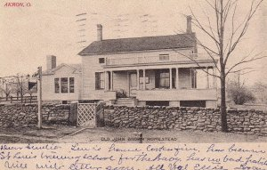 AKRON, Ohio, PU-1907; Old John Brown Homestead