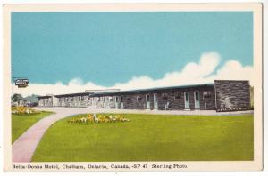 Bella-Donna Motel, Chatham, Ont