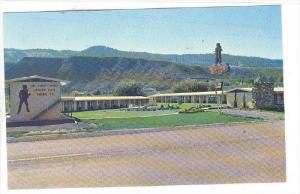 KAMLOOPS, British Columbia, Canada, 1940-1960´s; Davy Crockett Motel