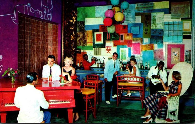 The British Colonial Hotel Hong Kong Bar Nassau Bahamas