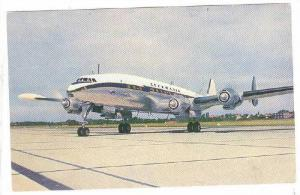 LUFTHANSA Lockheed Super-G-Constellation airplane , 1950s