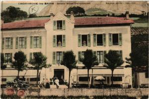 CPA  Choranche-les-Bains - Grand Hotel Continental  (489277)