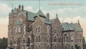 WOODSTOCK, Ontario, Canada, PU-1910; Court House