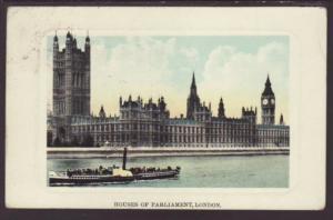 Houses of Parliament,London,England,UK Postcard
