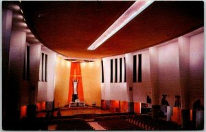 Kansas City, Missouri Postcard ST. FRANCIS XAVIER CHURCH Interior View c1960s