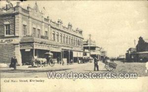 Kimberley South Africa Old Main Street Kimberley Old Main Street