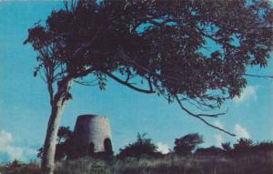 Monument, Sugar Mill, St. Croix, Virgin Islands, U.S.A., 40-60s