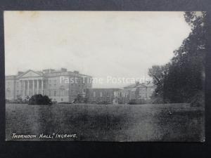 Essex: Thordon Hall Thorndon Park Ingrave, Old Postcard by S.Bennett P.O.Ingrave