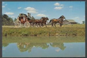 Canada - Ontario - stage coach at Upper Canada historical village