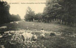CPA Le Raincy (Dep.93) Scéne champétre sur la Dhuis (44584)