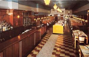 3028 NY Cortland 1950's Community Coffee Shop Interior