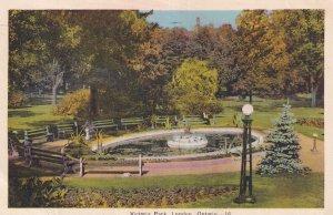 LONDON, Ontario, Canada, PU-1940; Victoria Park