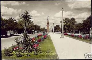 mexico, MONTERREY, Calzada Madero, Monument (1938) RPPC