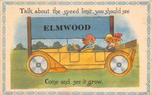 Talk About Speed Limit in Elmwood Illinois~See it Grow~Touring Car~Pennant PC