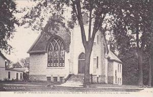 Iowa Mechanicsville First Presbyterian Church Albertype