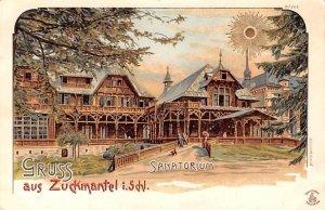 Sanatorium Zuckmantel I Schl Germany Unused