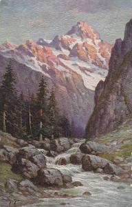 AS, W. Hoy, Gletscherbach, Glacier Book, Germany, 1900-1910s