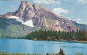 Canada Alberta Yoho National Park Emerald Lake And Mount Burgess