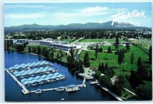 *Best Western Templin's Resort Hotel Post Falls Idaho 4x6 Postcard B22