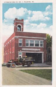 PALMYRA, Pennsylvania, 1900-1910's; Citizen's Fire Co. No. 1