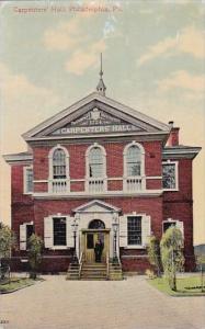 Carpenters Hall Philadphia Pennsylvania