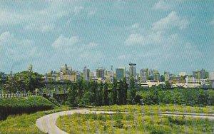 Virginia Richmound Skyline Of The City Of Richmond