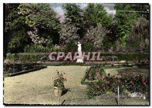 Modern Postcard Chateauroux Indre Public Garden
